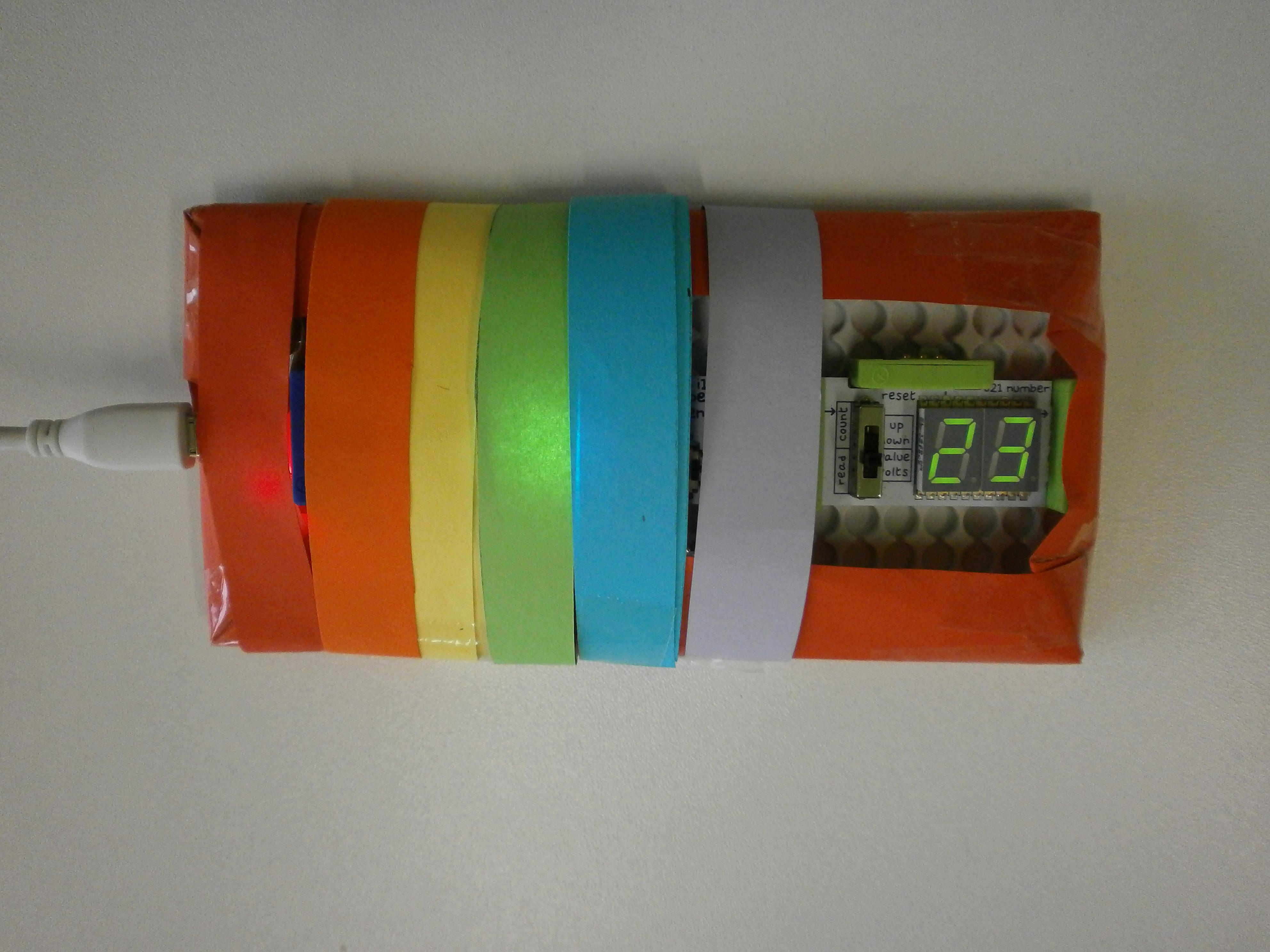 Naš termometar u šarenom ovitku