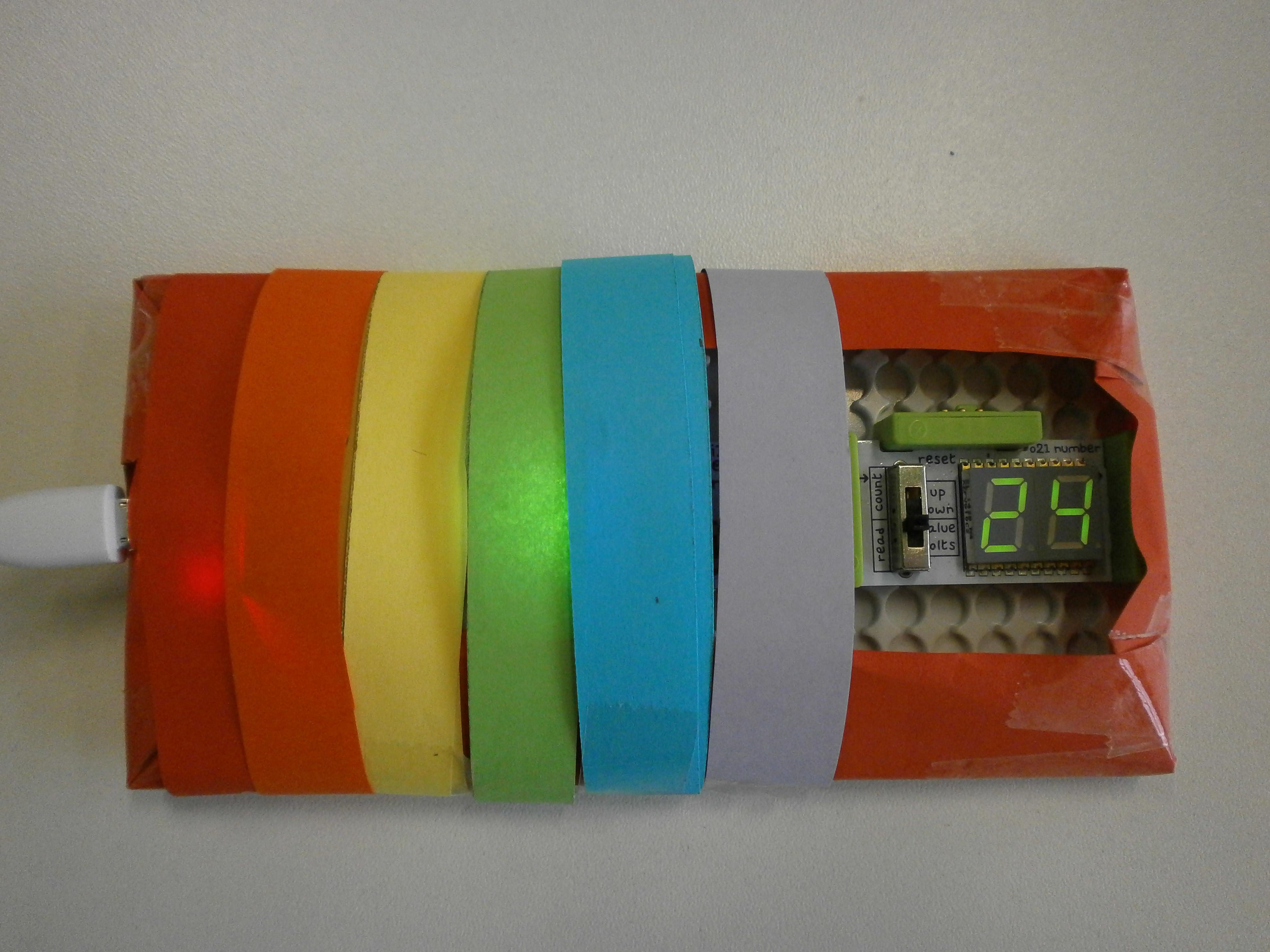 Naš uređaj za mjerenje temperature
