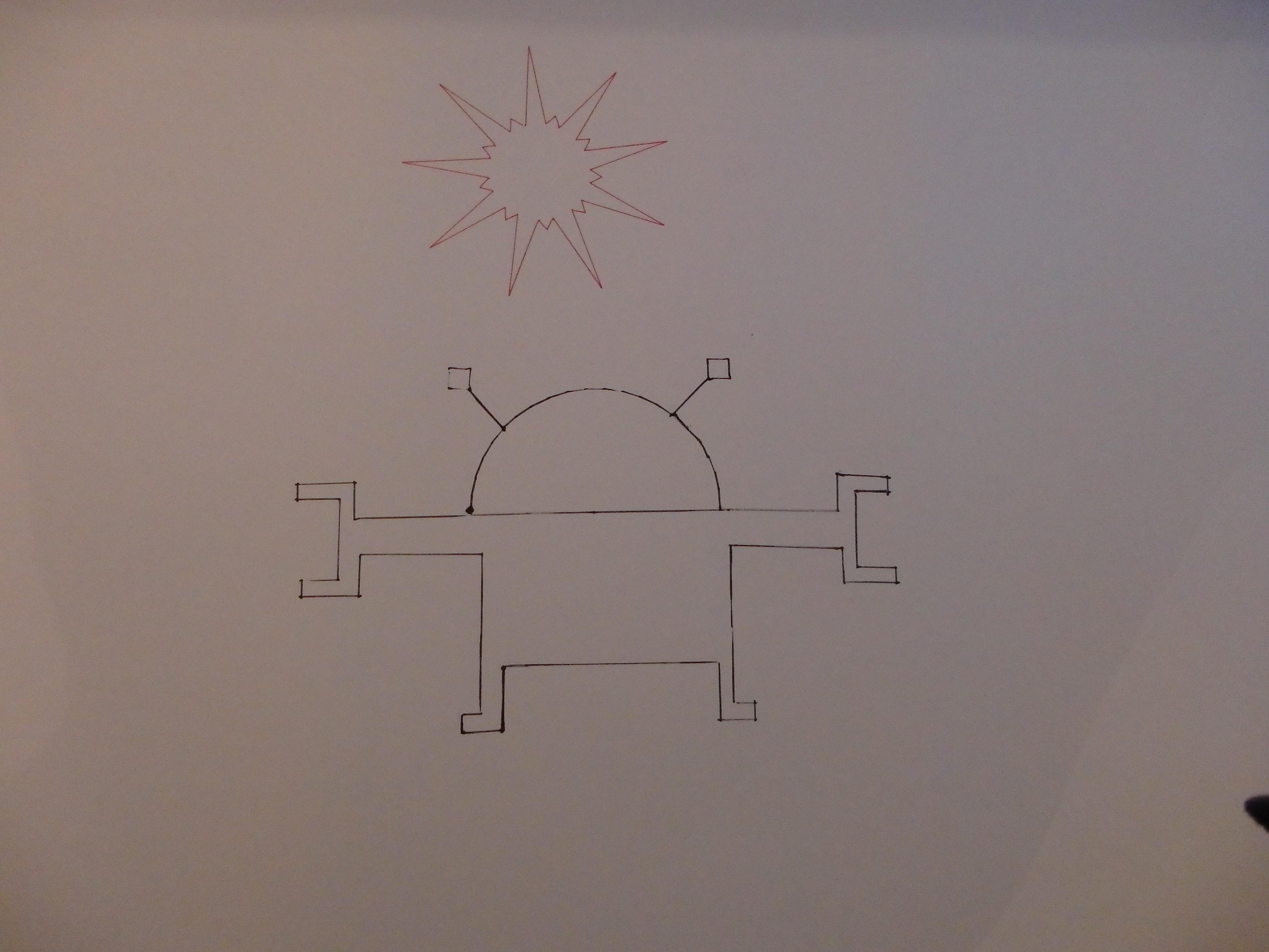 Robot i sunce