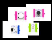 Prvi littleBits projekt – LEDica, tipkalo i mjerač zvuka