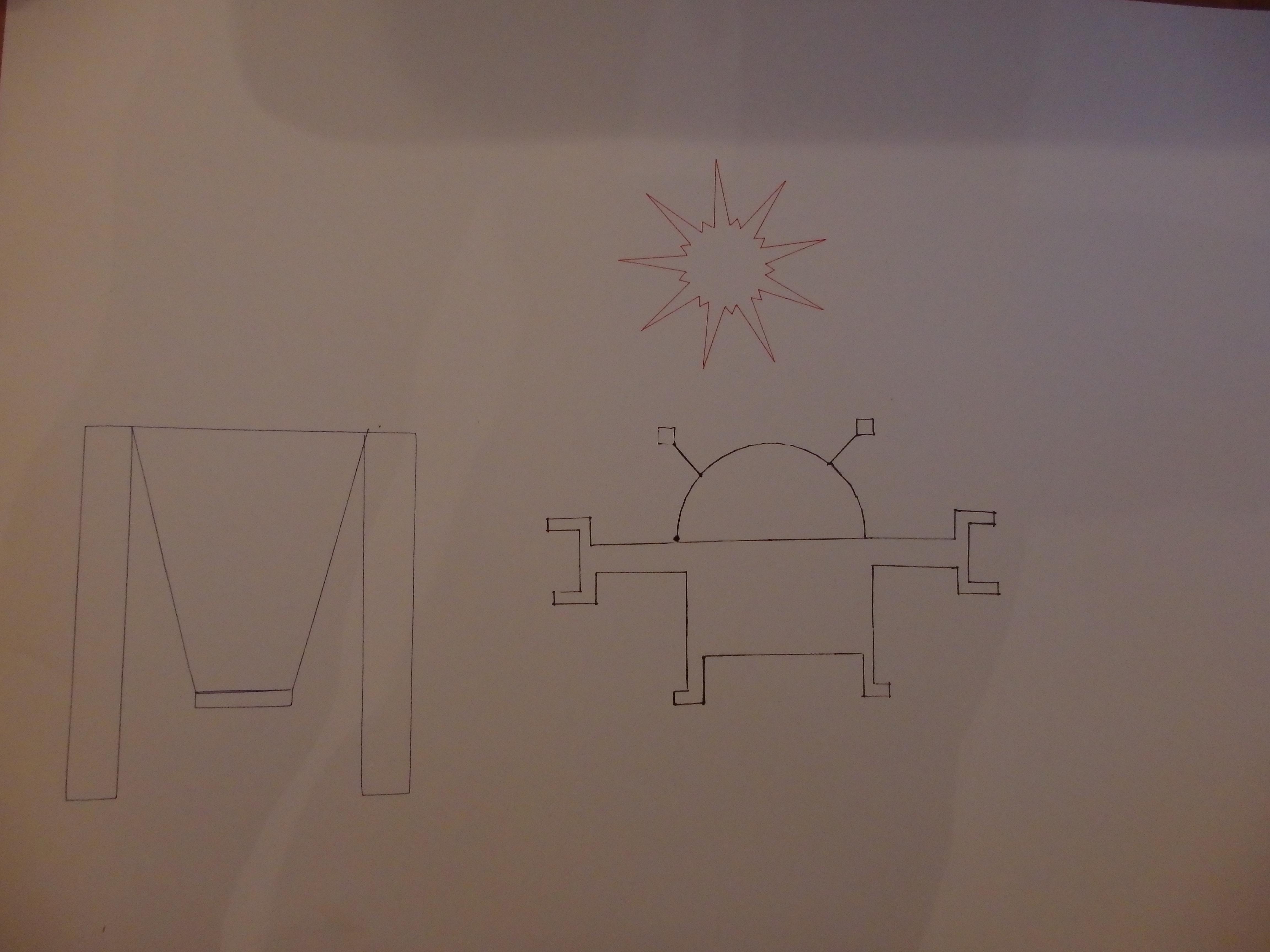 Robot, sunce i ljuljačka